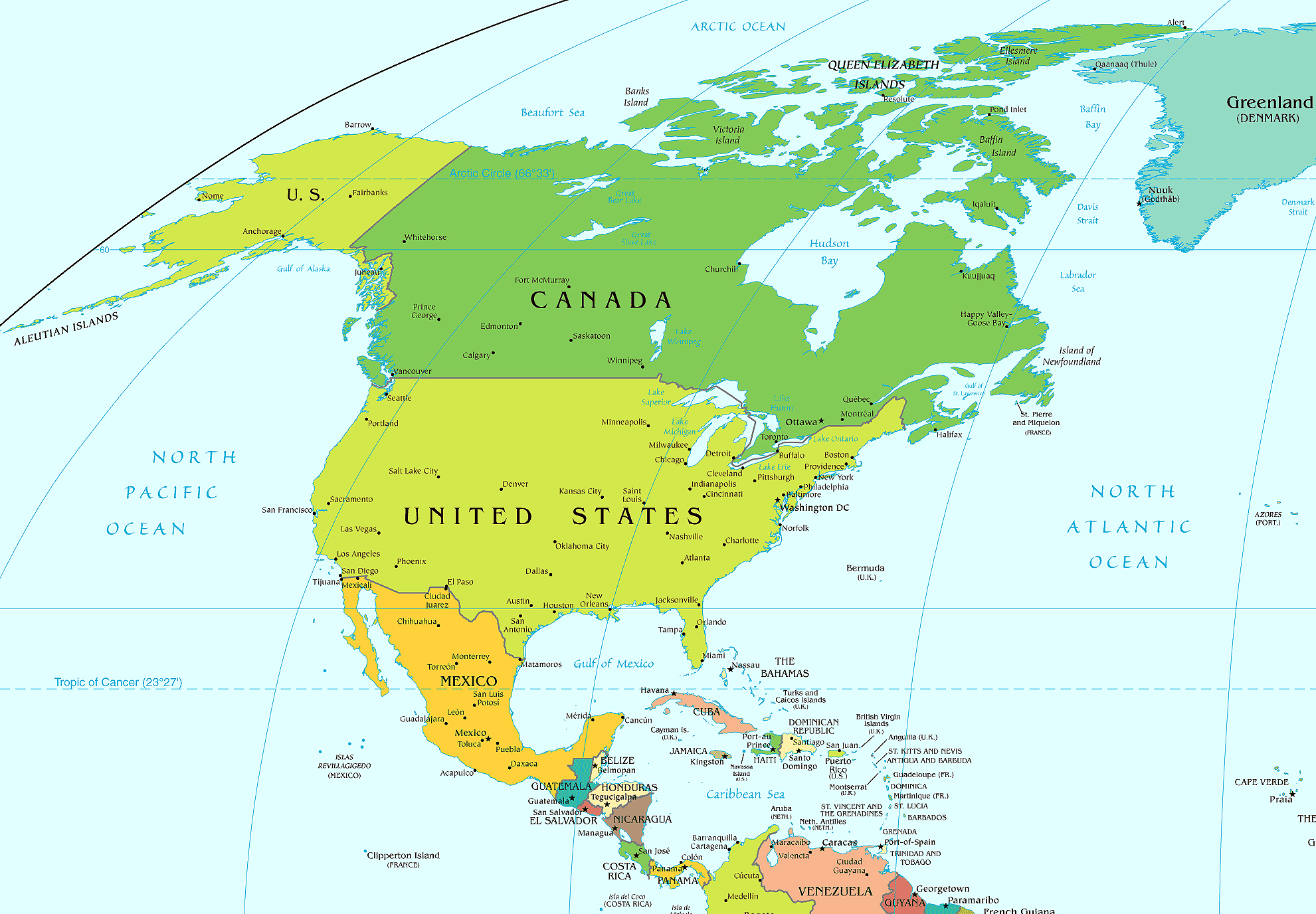 Americas Distribution Altro Intertropical Americas Map Central - Canada north america map