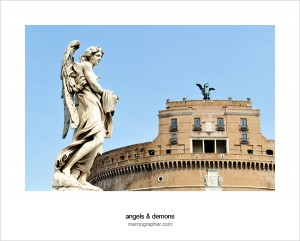 Castle of Saint Angelo. Rome, Italy