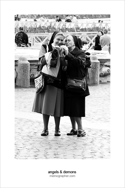 Modern Nuns :) Saint Peter's Square, Vatican City