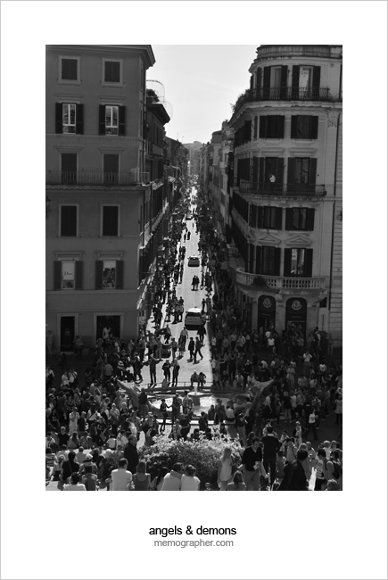 Piazza di Spagna (Spanish Steps). Rome, Italy
