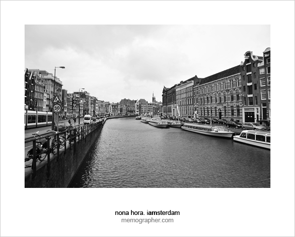One rainy day in Amsterdam, Holland