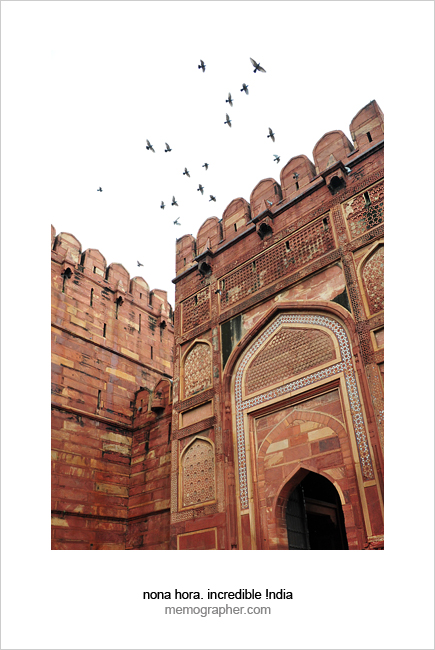 Agra Fort. India