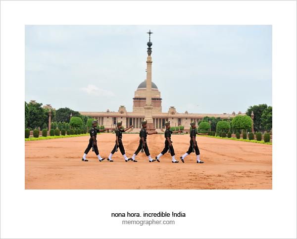 Rastrapati Bhavan. Delhi, India