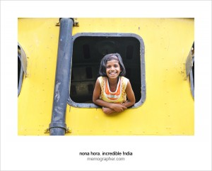 My new friend Sumaiya. National Rail Museum, Delhi, India