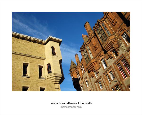 Athens of the North. Edinburgh, Scotland