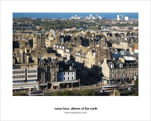 Athens of the North. Edinburgh, Scotland