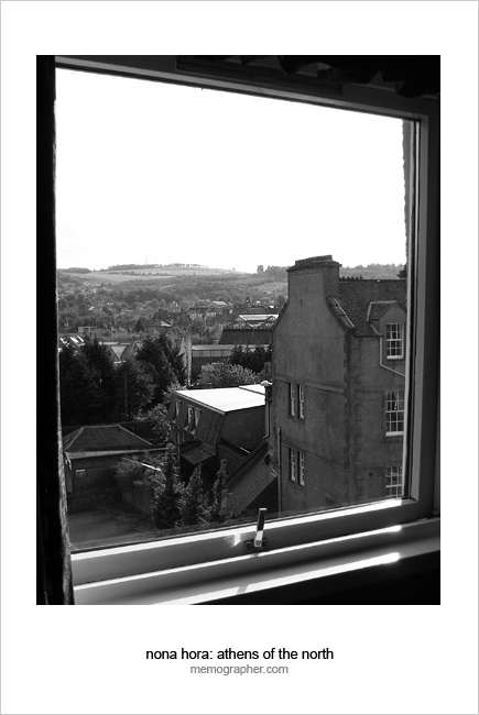 View from my room. Perth, Scotland