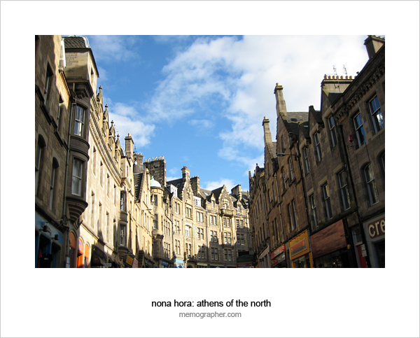 Streets of Edinburgh, Scotland
