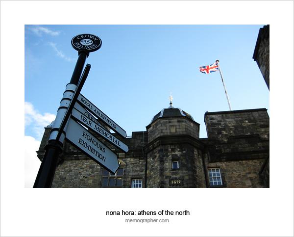 The Crossroads of Edinburgh Castle