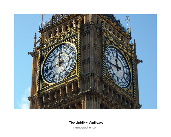 Almost Noon. Big Ben Clock Tower, London England