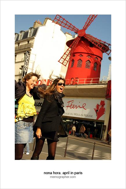 Moulin Rouge. Paris, France