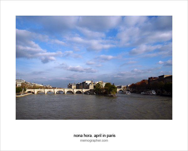 Seine River. Paris, France