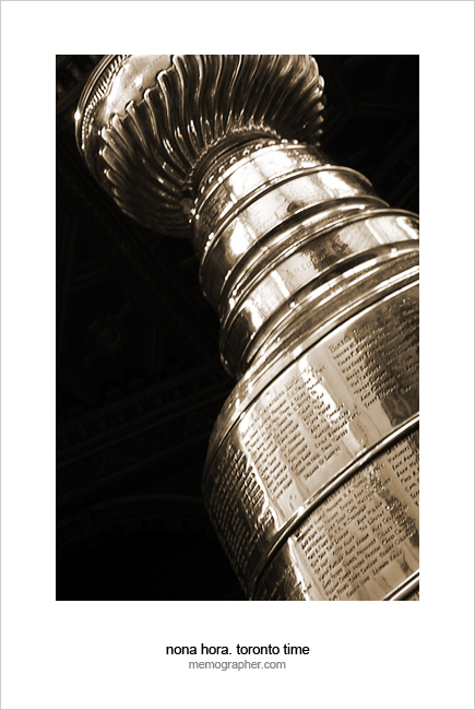 Stanley Cup. Hockey Hall of Fame, Toronto, Canada