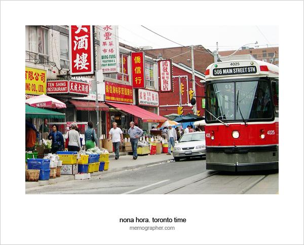 China Town. Toronto, Canada