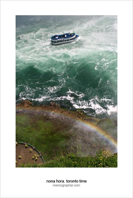 The Rainbow at Niagara Falls. Canada