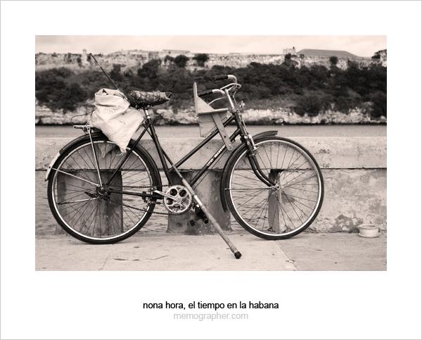 Fishing Bike. Havana, Cuba
