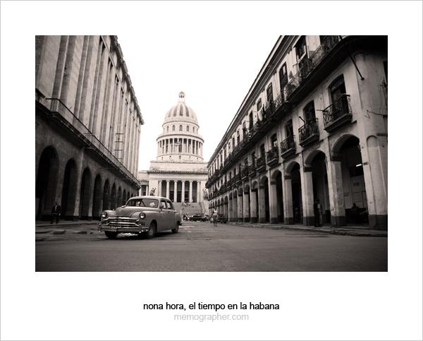 Havana, Cuba. American Classic Cars Museum