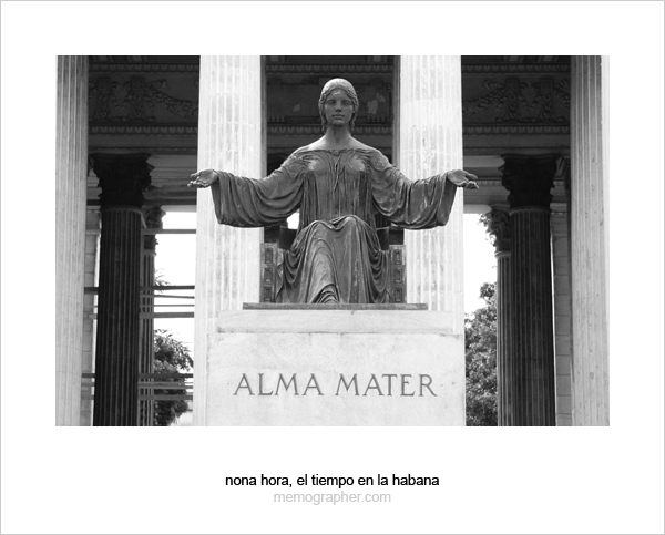 Alma Mater. The University of Havana, Cuba