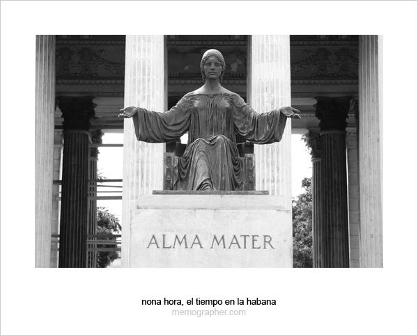 Alma Mater. The University of Havana, Cuba