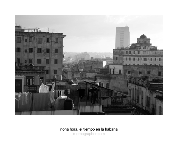 The Roofs of Havana, Cuba
