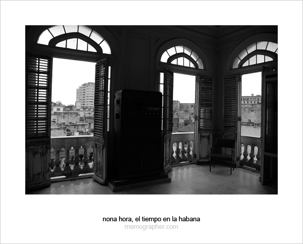 The Windows. Havana, Cuba