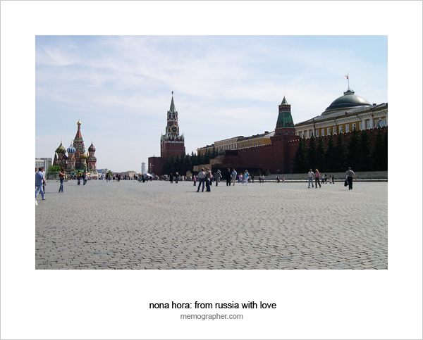 The Red Square. Moscow, Russia