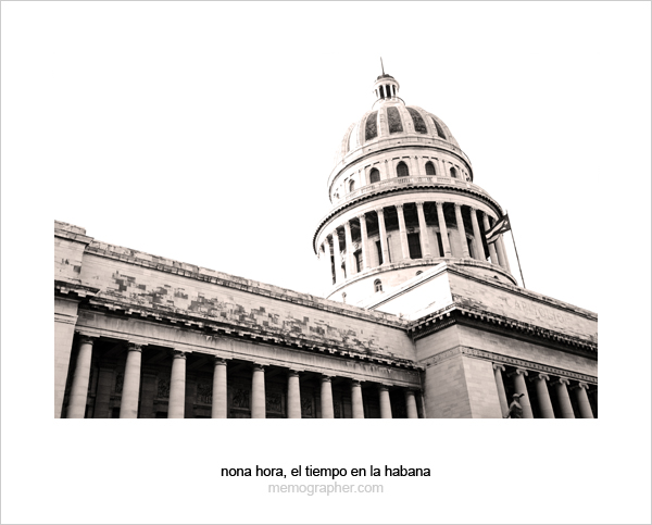 El Capitolio, or National Capitol Building in Havana, Cuba