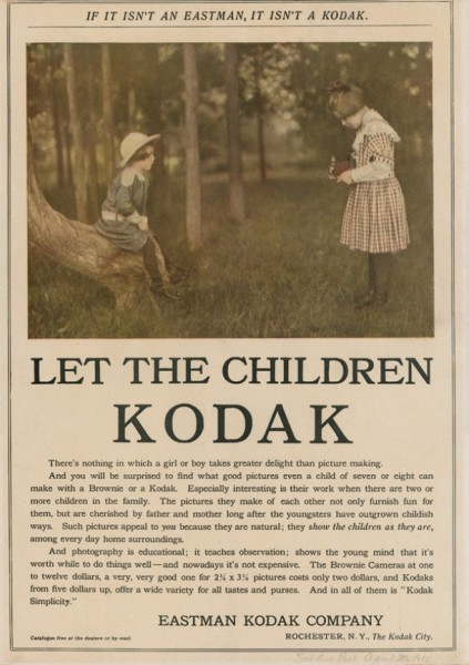 Eastman Kodak Advertisement