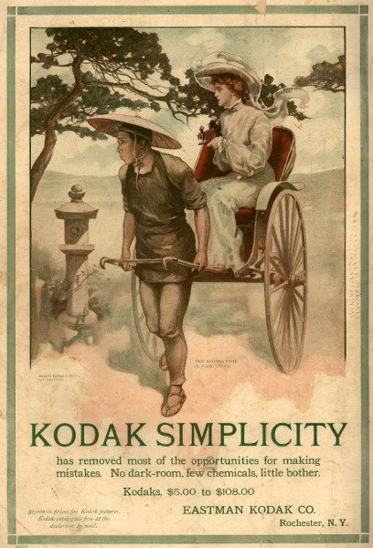 Kodak Simplicity. Eastman Kodak Advertisement