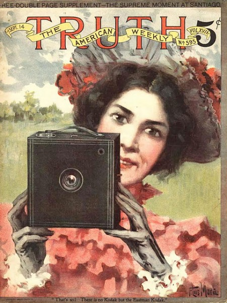 Kodak Girl. Eastman Kodak Advertisement