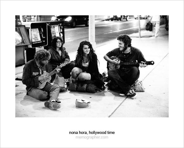 Hollywood Musician Beggars