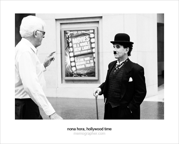 Charlie Chaplin on the Hollywood Walk of Fame