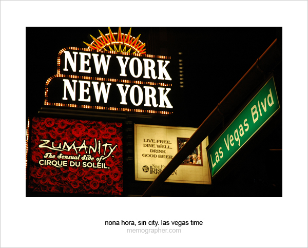 New York New York, Las Vegas Blvd. Las Vegas, Nevada
