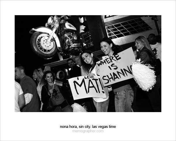 Fans. Las Vegas, Nevada