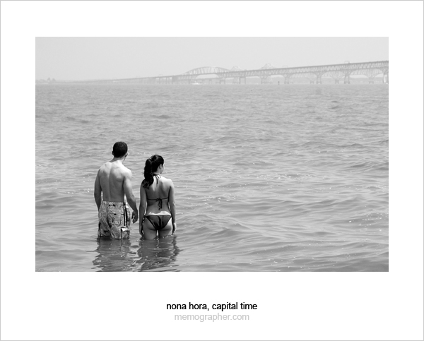 A Couple. Chesapeake Bay, Annapolis, Maryland