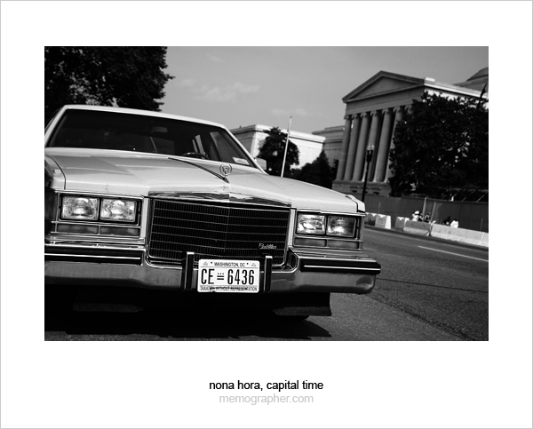 Cadillac. Washington, D.C.