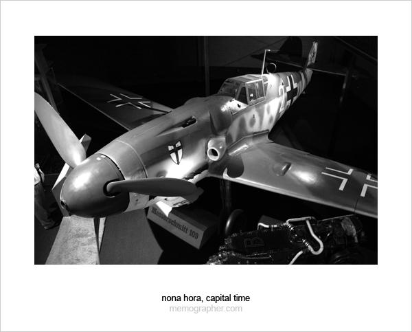 Messerschmitt Bf 109 G-6/R3 (Me 109, Gustav). Smithsonian National Air and Space Museum