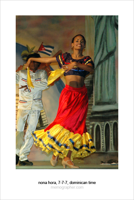 Spanish Dance. Dominican Republic