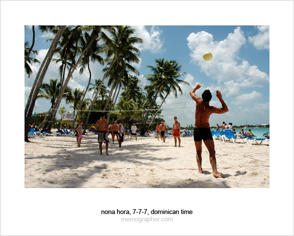 Beach Volleyball. Dominican Republic