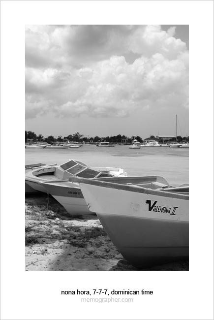 The Boats. Caribbean Sea