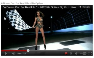 Adriana Lima - A Deam Car For Real Life - KIA Optima