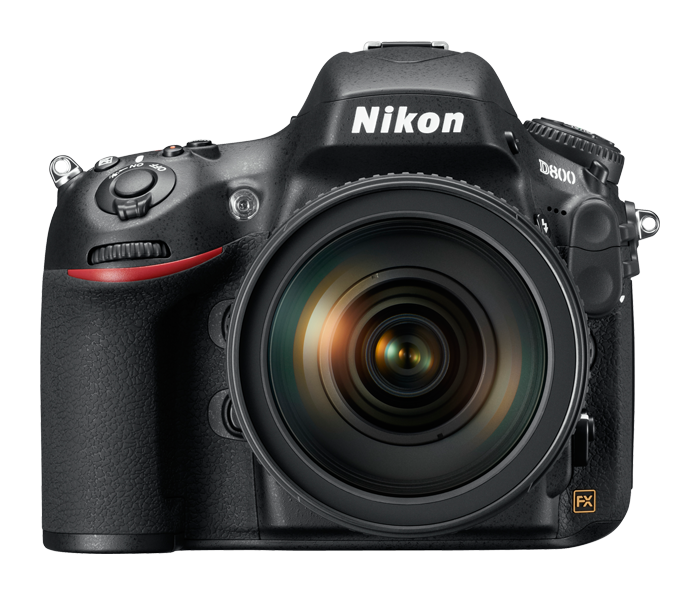 Nikon D800. Front View