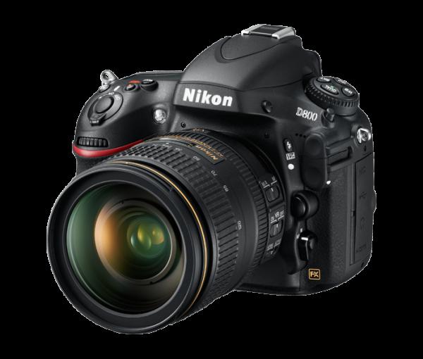 Nikon D800. Left View
