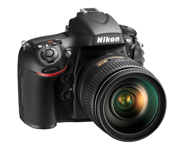 Nikon D800. Right View