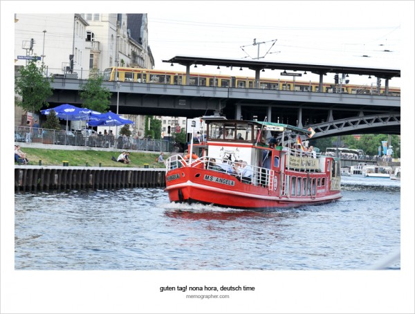 Sightseeing Cruise on the River Spree. Berlin, Germany