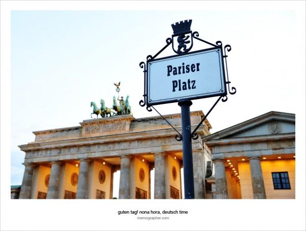 The Brandenburg Gate (Brandenburger Tor). Berlin, Germany