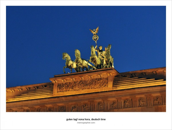 The Brandenburg Gate (Brandenburger Tor). Berlin, Germany