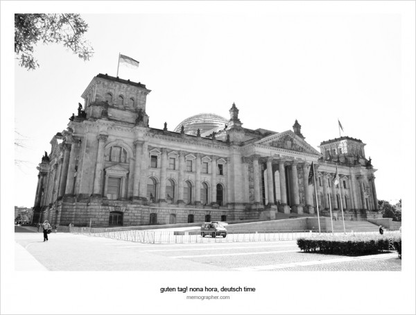 The Reichstag (Bundestag). Berlin, Germany