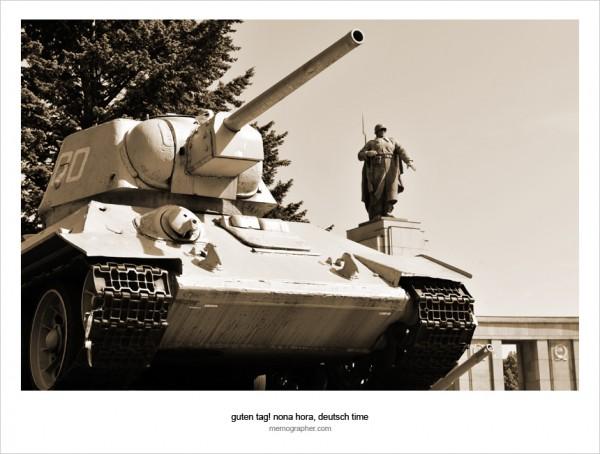 Soviet War Memorial. Berlin, Germany
