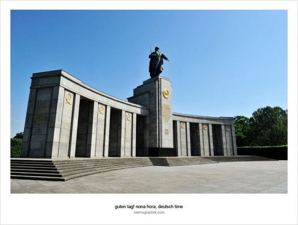 Soviet War Memorial. Berlin, Germany
